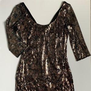 Guess LA Sequin Dress Sz 4